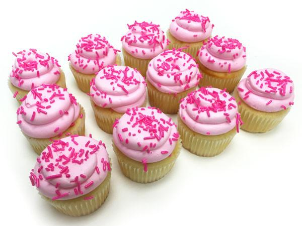 Pink Cupcakes Against Breast Cancer