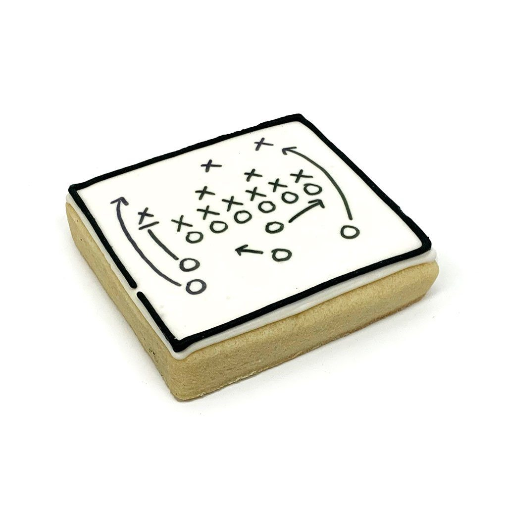 Football Play Cookie Cutout Cookie Freed's Bakery