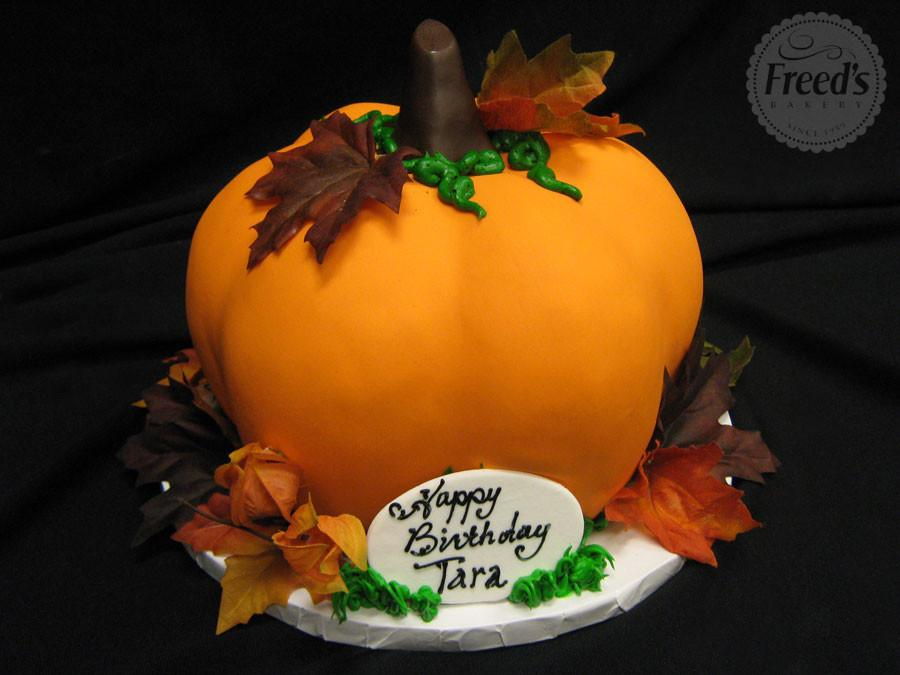 Pumpkin Harvest Thanksgiving Item Freed's Bakery