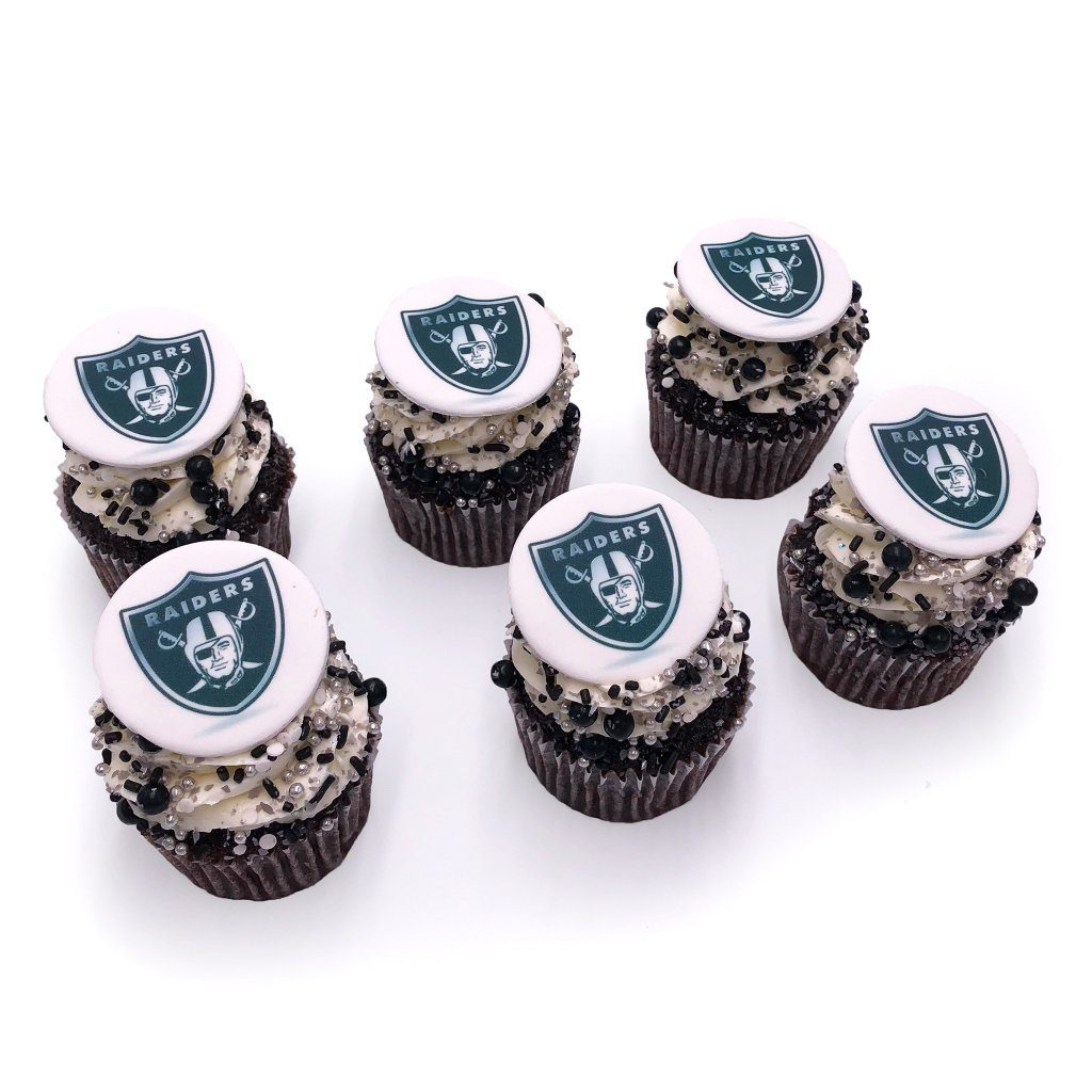 Raiders Cupcakes Cupcake Freed's Bakery