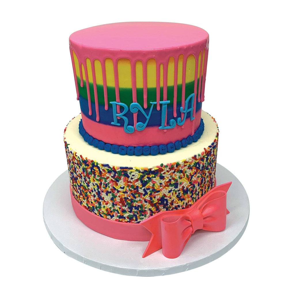 Rainbow Party Theme Cake Freed's Bakery