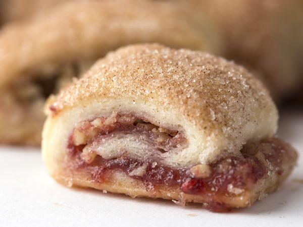 Raspberry Raisin Rugelach