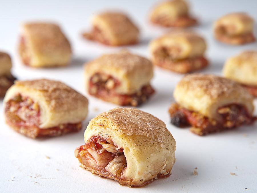 Raspberry Raisin Rugelach (Nationwide Shipping) Rugelach Freed's Bakery