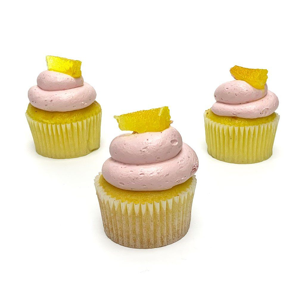 Raspberry Lemonade Cupcake Cupcake Freed's Bakery