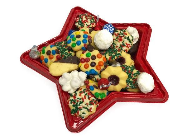 Red Star Cookie Tray