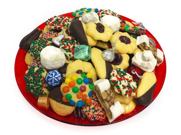 Red Cookie Tray