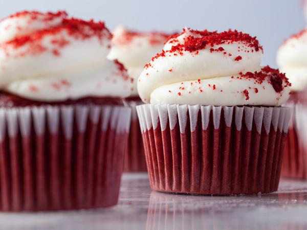 Red Velvet Cupcake Cupcake Freed's Bakery