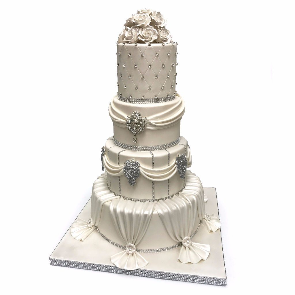Royal Ivory Wedding Cake Freed's Bakery