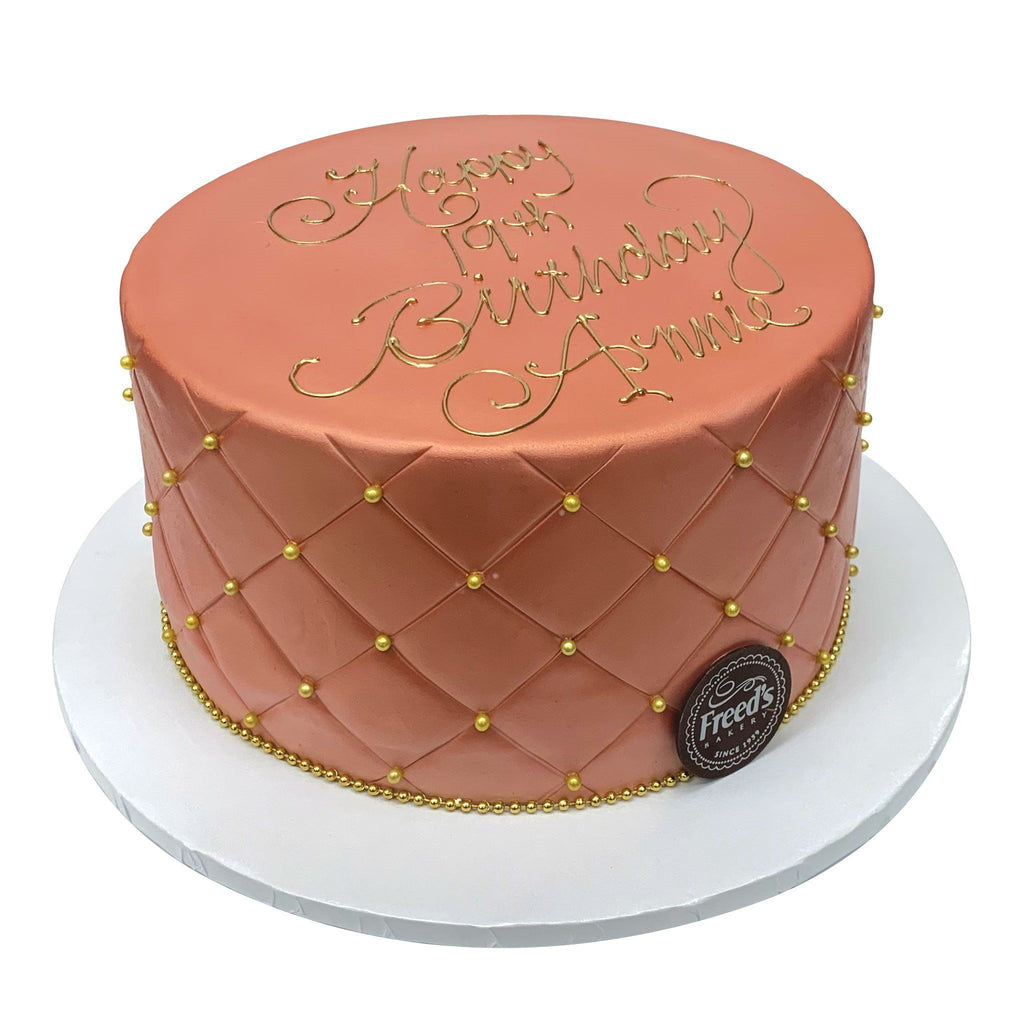 Royal Rose Theme Cake Freed's Bakery