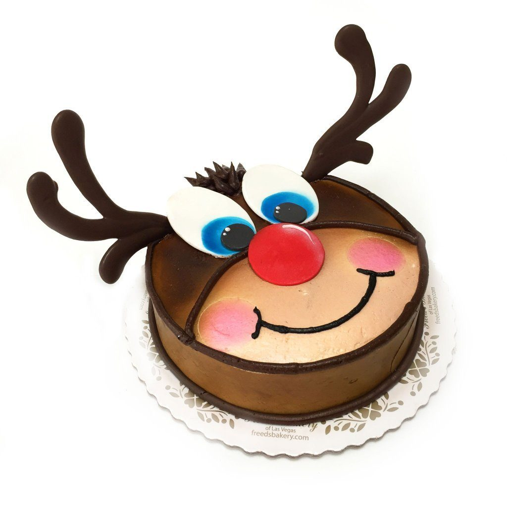 Rudolph Holiday Item Freed's Bakery