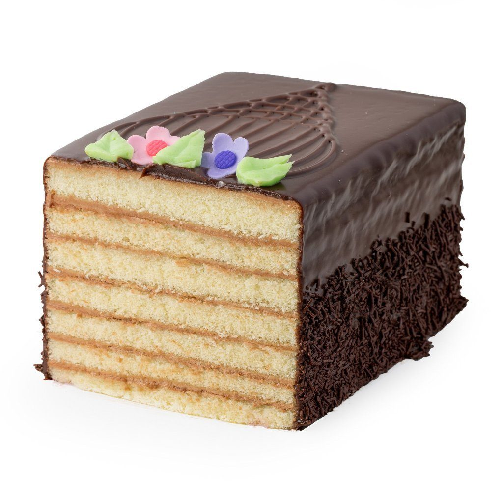 7 Layer Cake Cake Slice & Pastry Freed's Bakery