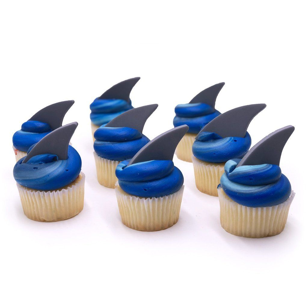 Shark Cupcake Cupcake Freed's Bakery