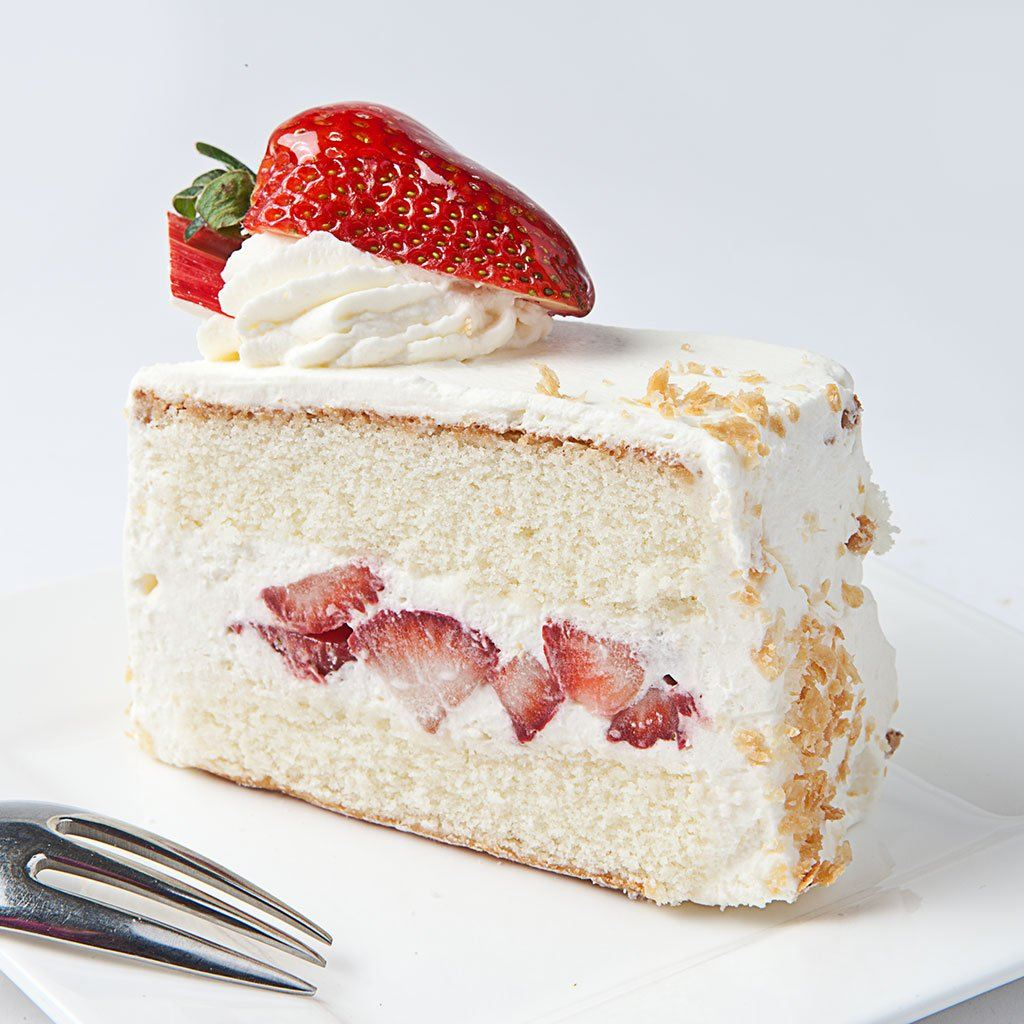 Strawberry Shortcake Slice Cake Slice & Pastry Freed's Bakery