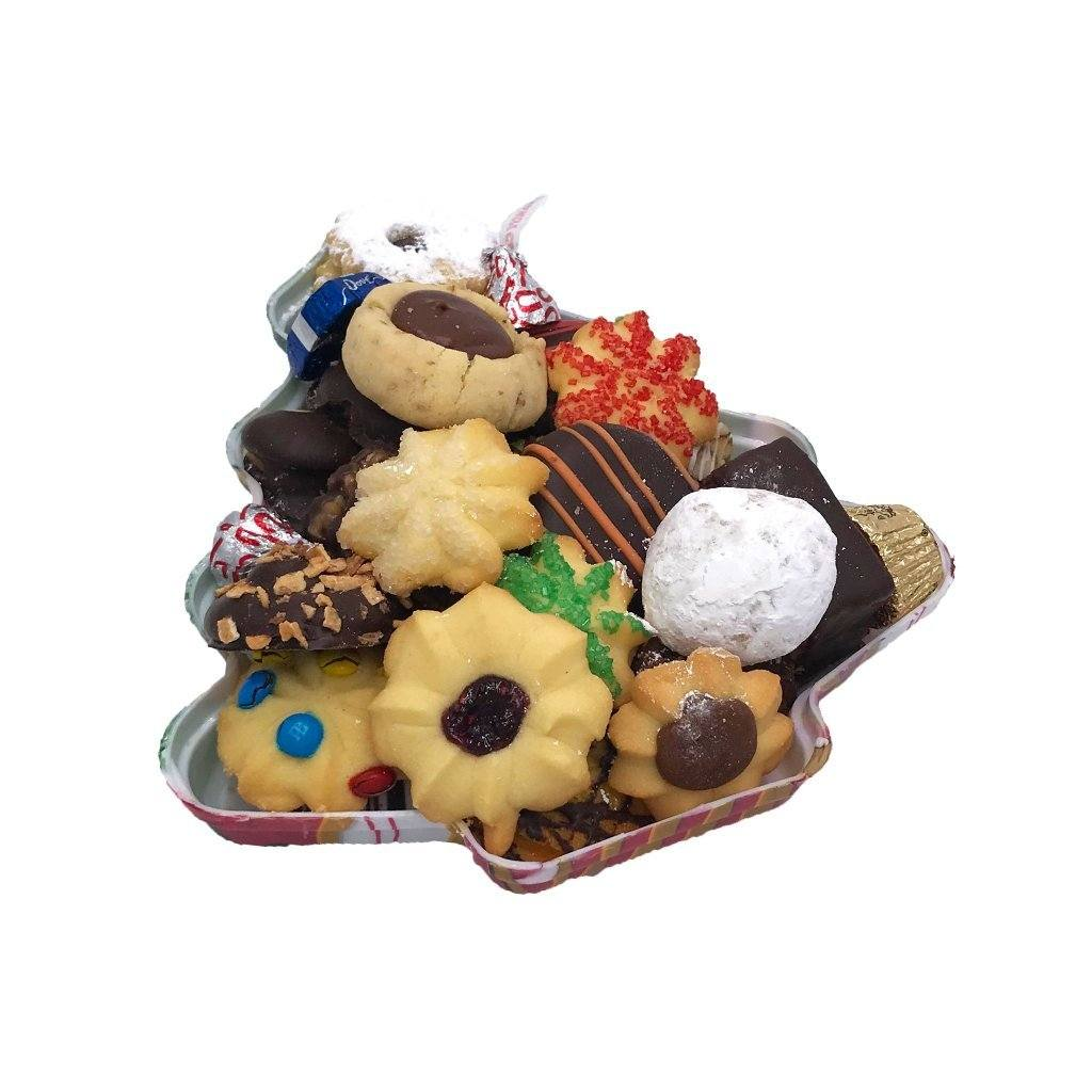 Small Christmas Tree Tray Holiday Item Freed's Bakery