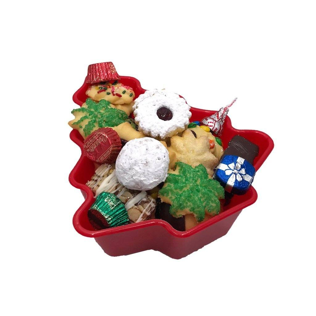 Medium Christmas Tree Tray Holiday Item Freed's Bakery