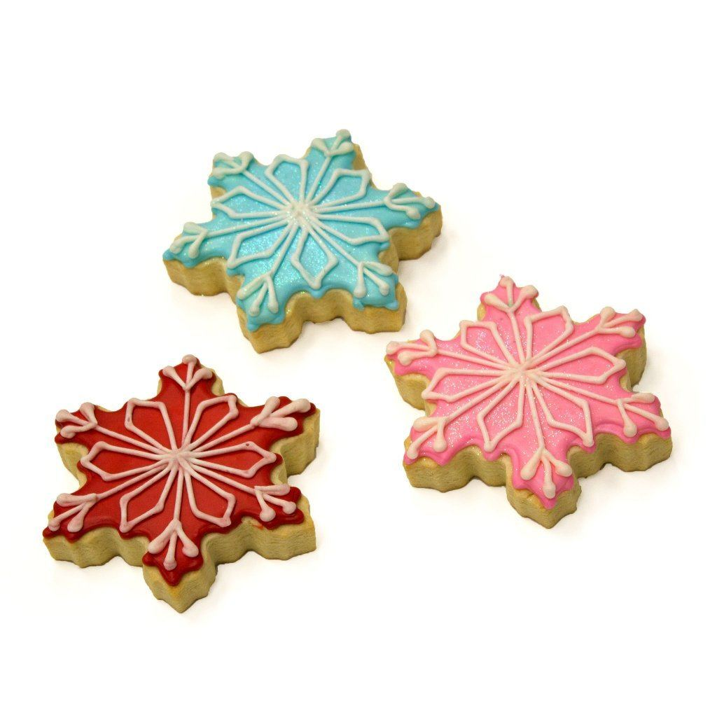 Snowflake Cookies Holiday Item Freed's Bakery