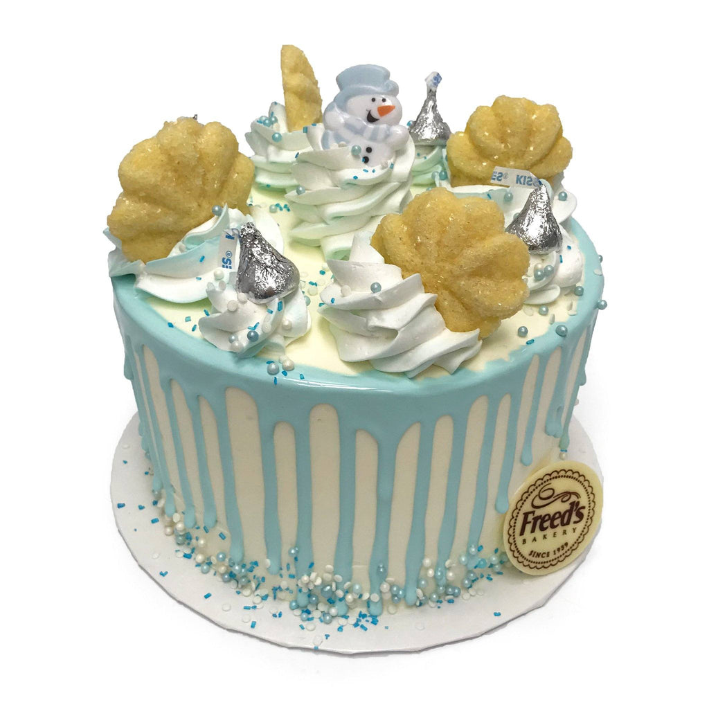Winter Snowflake Cake Decorating Class Event Freed's Bakery