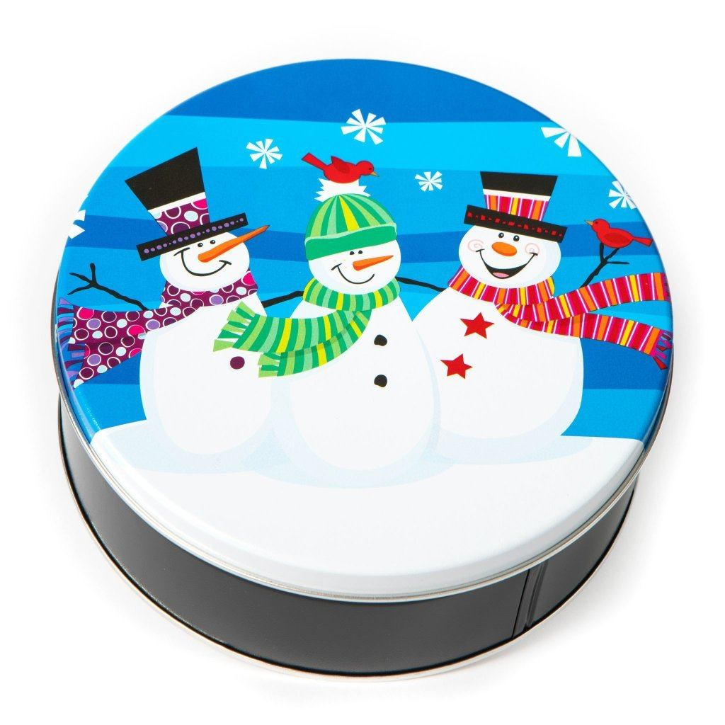 Snowmen Cookie Tin Cookie Tin Freed's Bakery