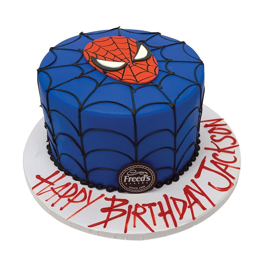Spidey Senses Theme Cake Freed's Bakery
