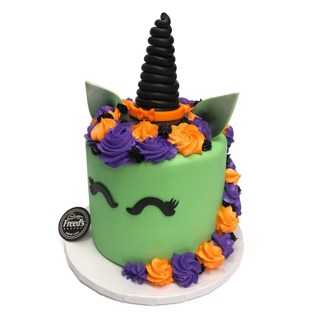 Unicorn Witch Theme Cake Freed's Bakery
