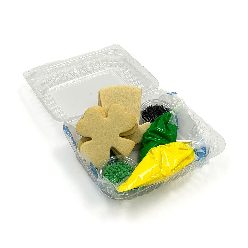 Shamrock Cookie Kit Activity Kit Freed's Bakery
