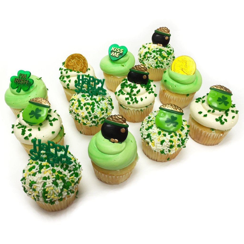 St. Patrick's Day Cupcakes St. Patrick's Day Freed's Bakery
