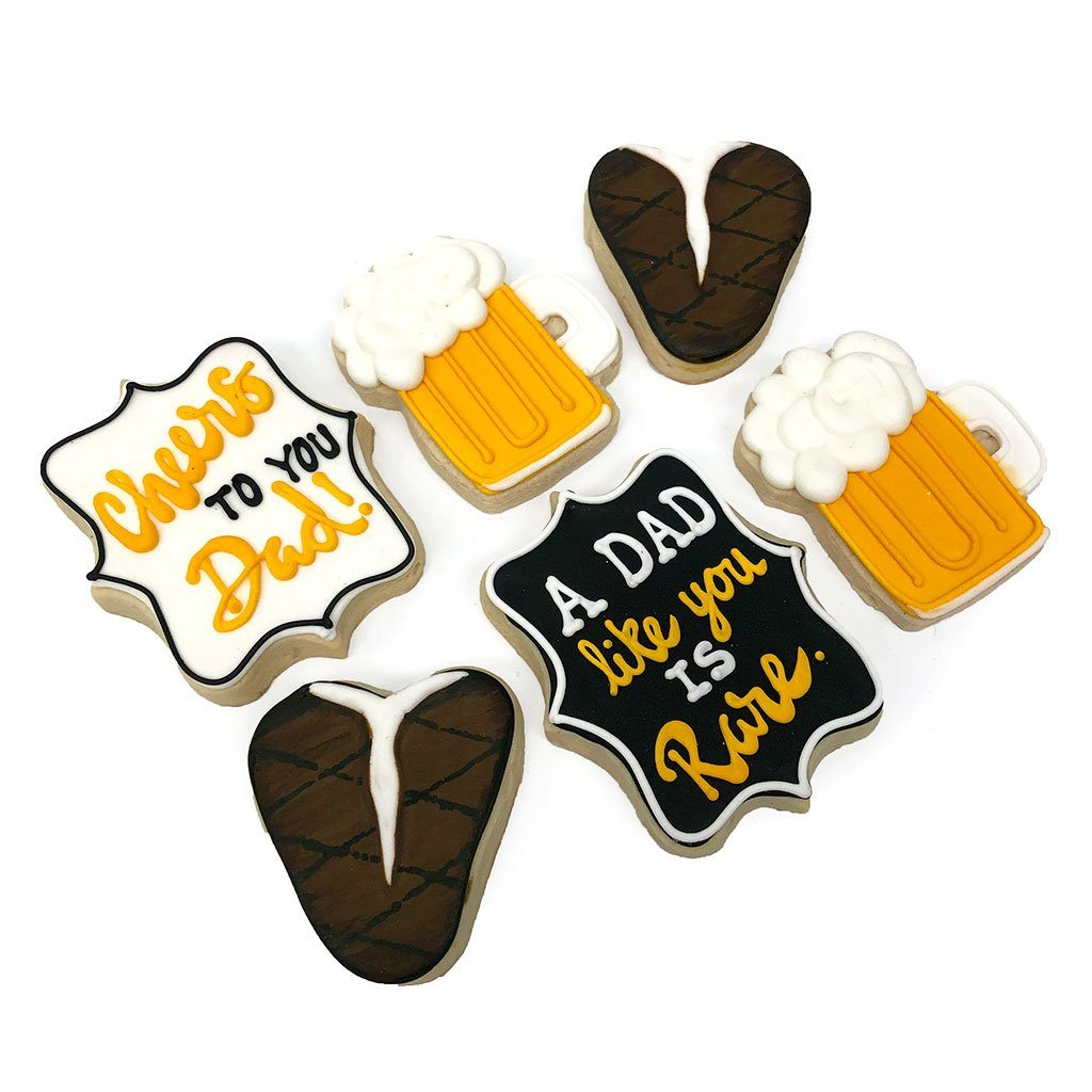 Steak and Beer Cookies Cookie Freed's Bakery