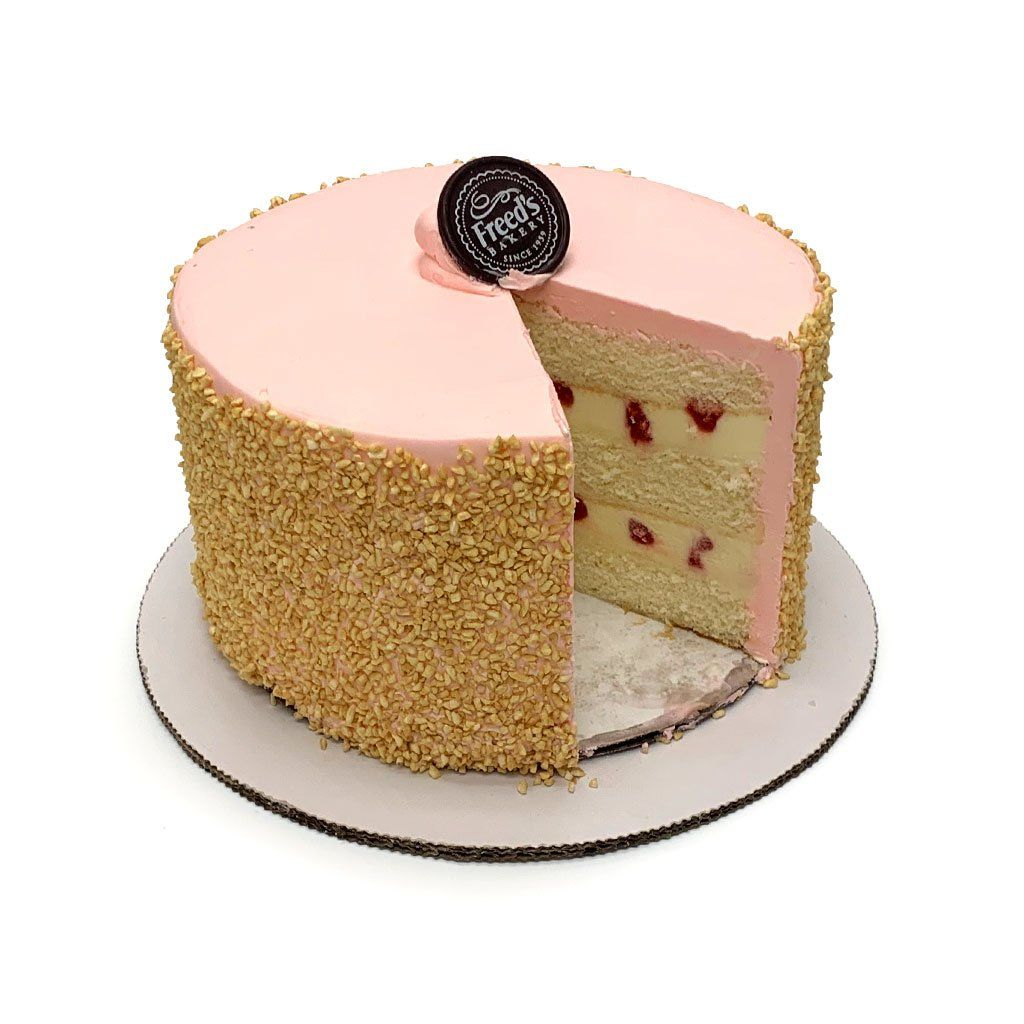 Strawberry Shortcake Ice Cream Cake Ice Cream Cake Freed's Bakery