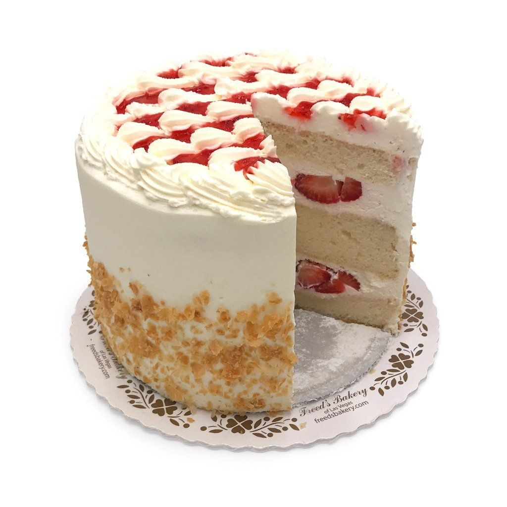 Strawberry Shortcake (Nationwide Shipping) Cake Shipping Freed's Bakery