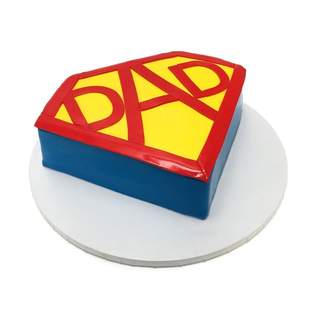 Super Dad Theme Cake Freed's Bakery