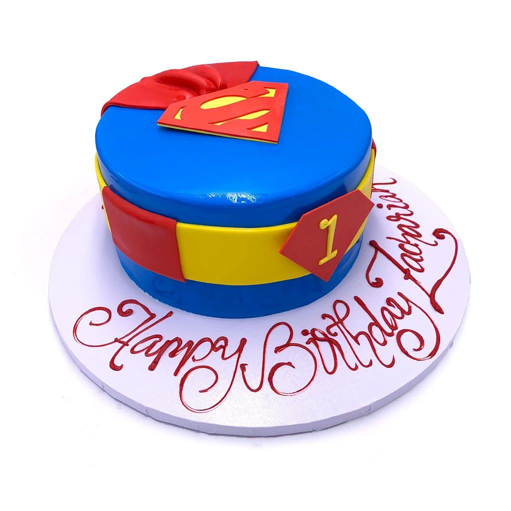 Superkid Theme Cake Freed's Bakery