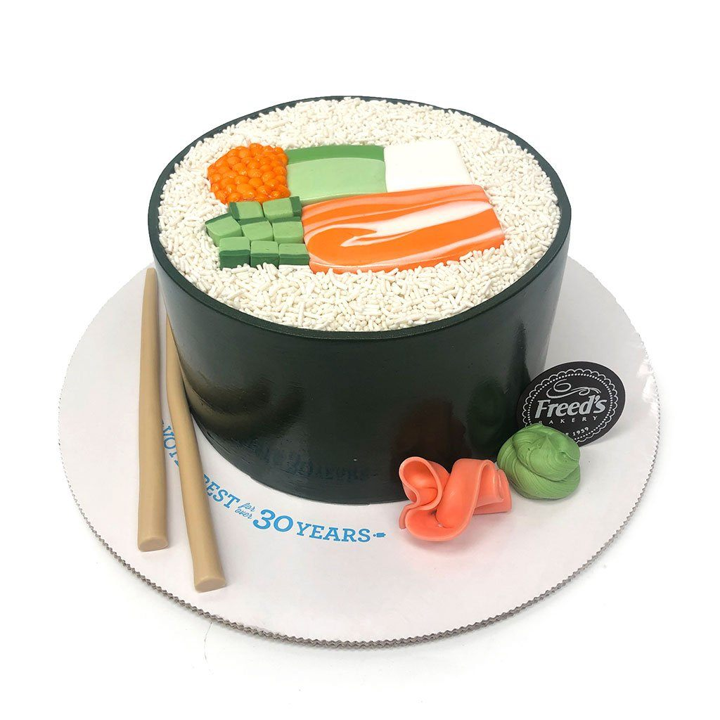 Sushi Night Theme Cake Freed's Bakery