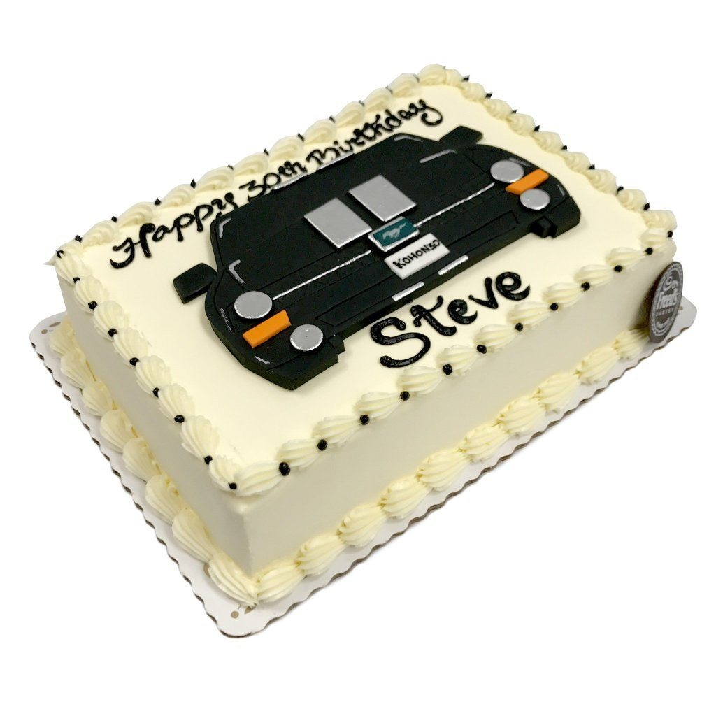 Sweet Ride Theme Cake Freed's Bakery
