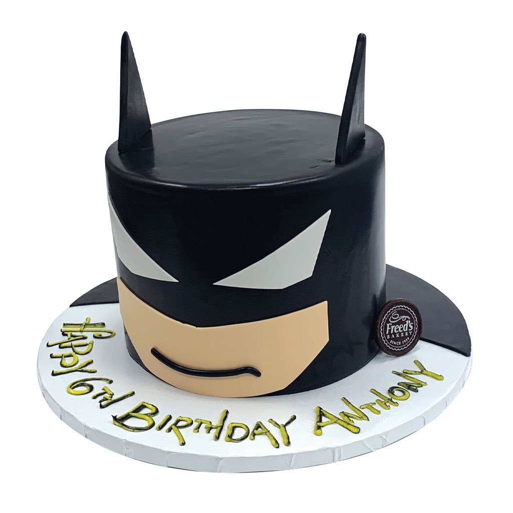 The Caped Crusader Theme Cake Freed's Bakery