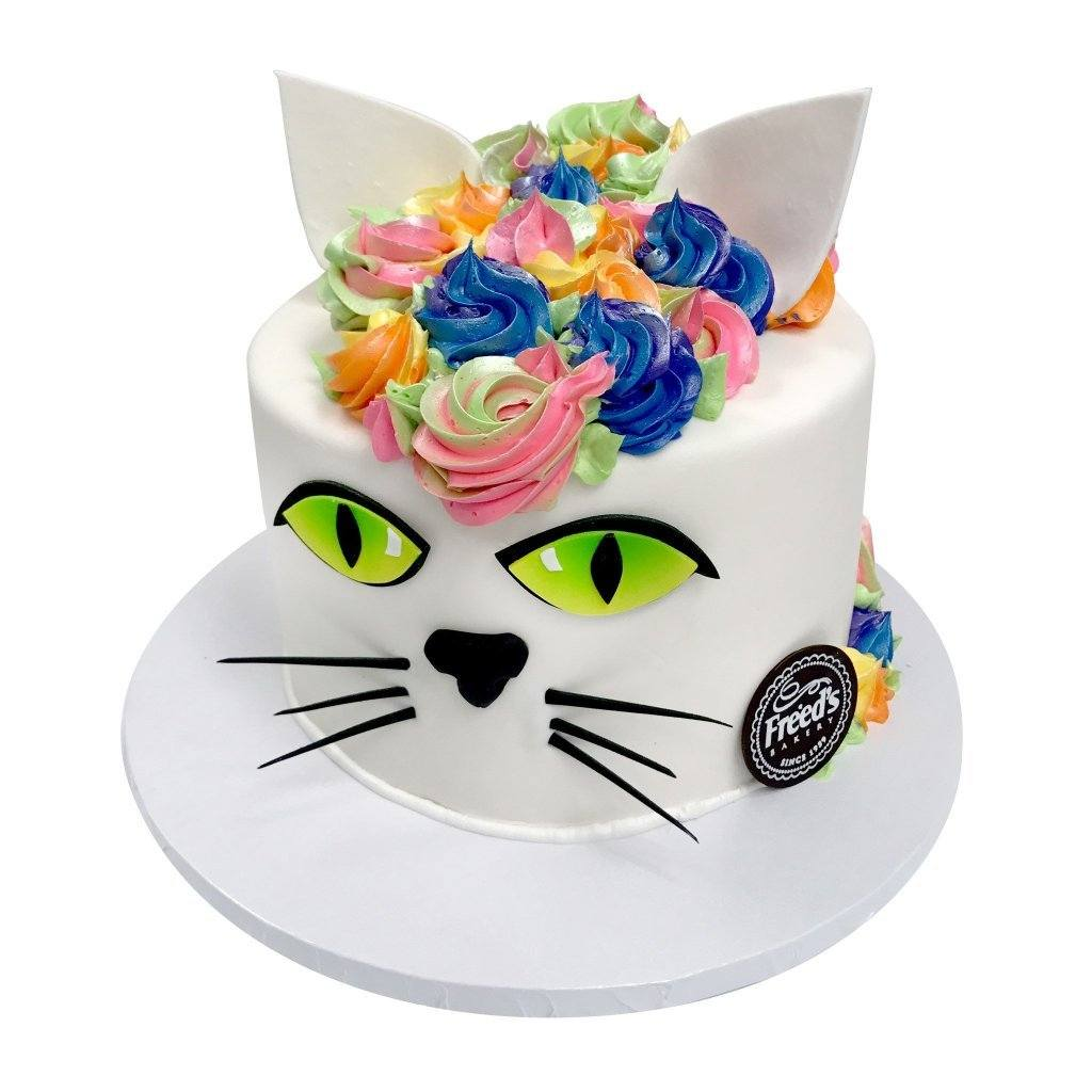 The Cats Meow Theme Cake Freed's Bakery