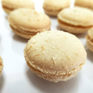 Toasted Coconut French Macaron