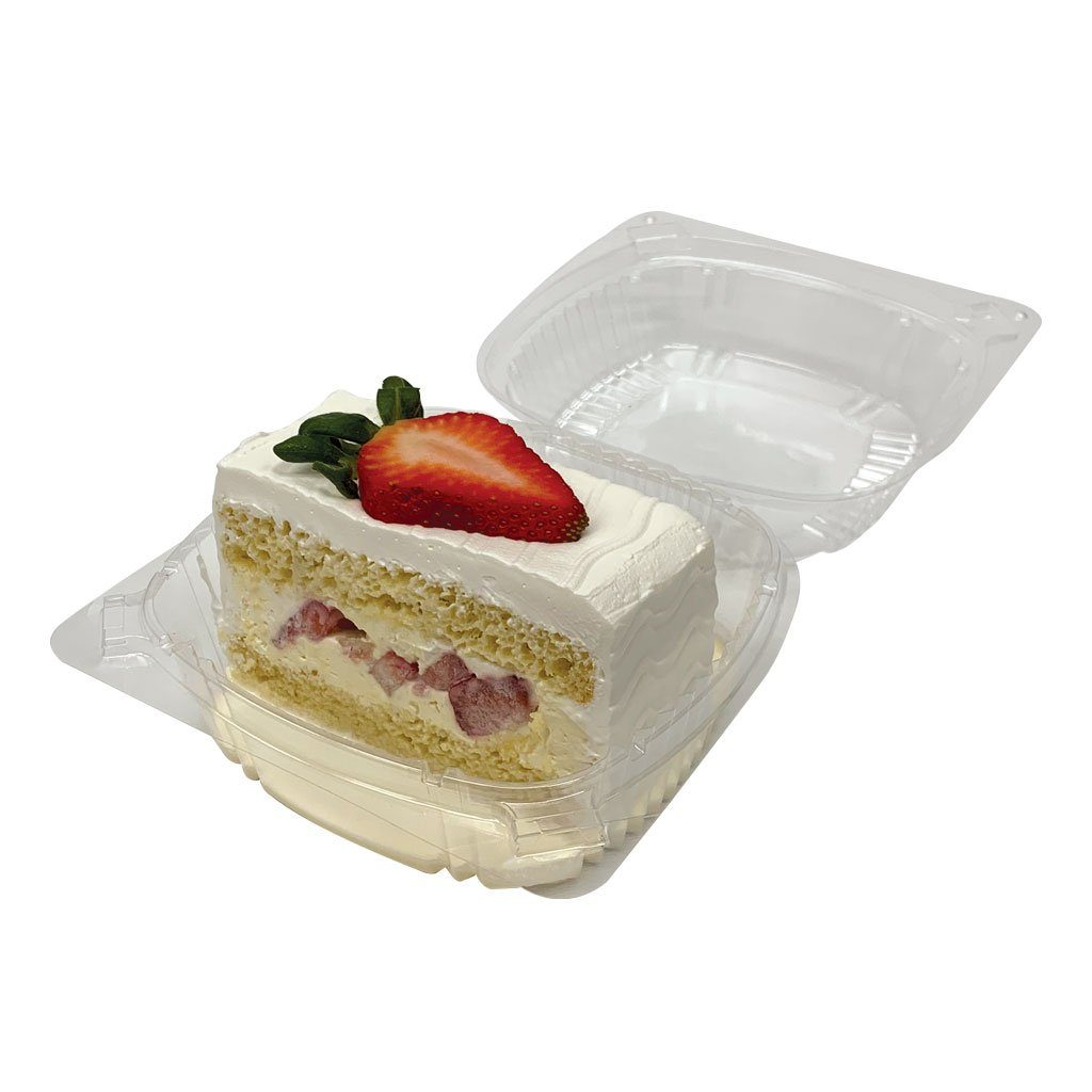 Tres Leches Dessert Cake Slice Dessert Cake Freed's Bakery Individual Slice (Serves 1-2) Strawberries