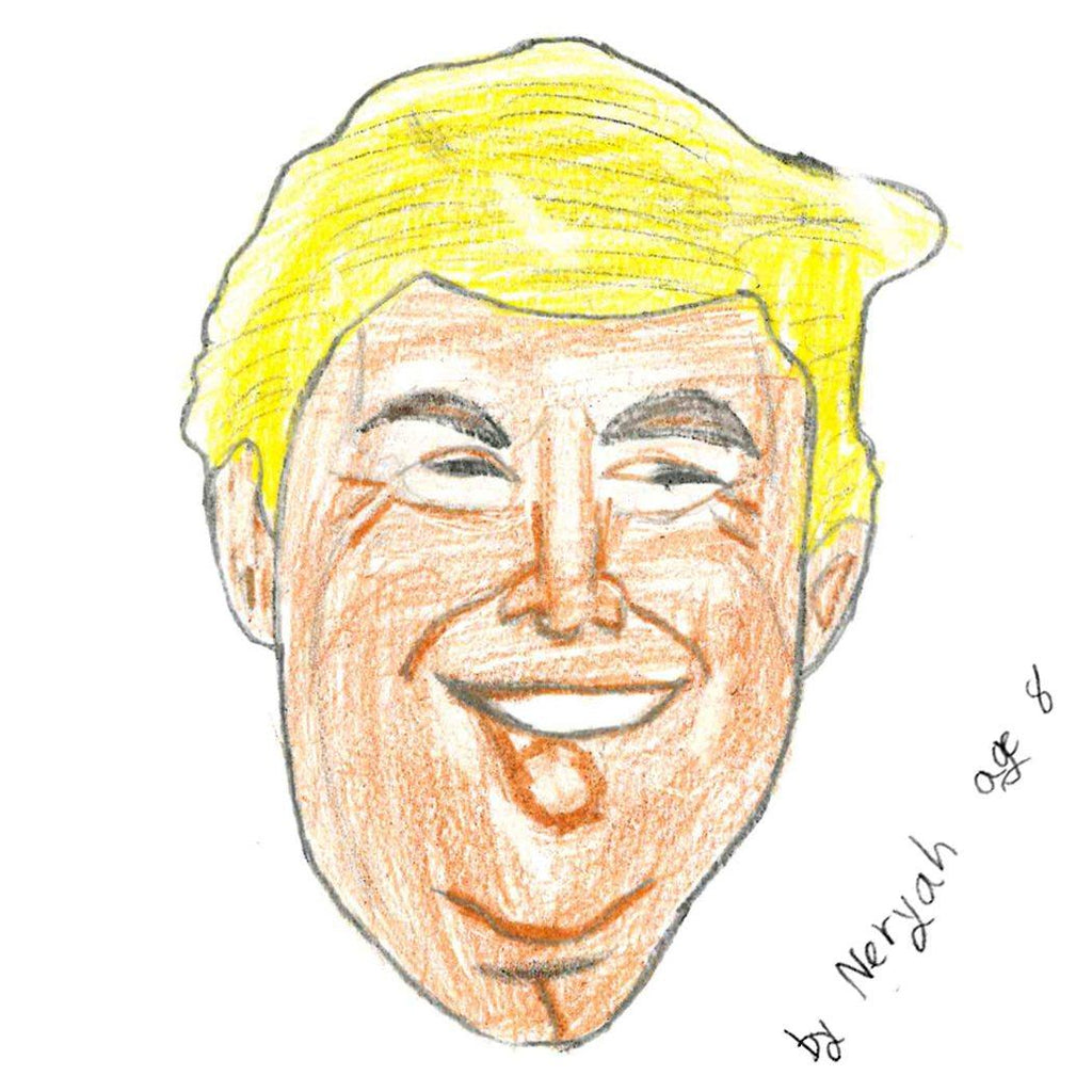 2020 Candidate Cookie - Donald Trump Cutout Cookie Freed's Bakery