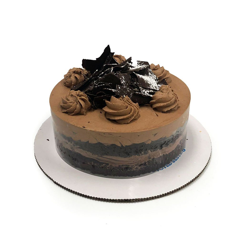 "Cozy-Sized Bestselling Parisian Chocolate Cake Dessert Cake Freed's Bakery Two-Layer 7"" Round (Serves 4-8 Guests)"