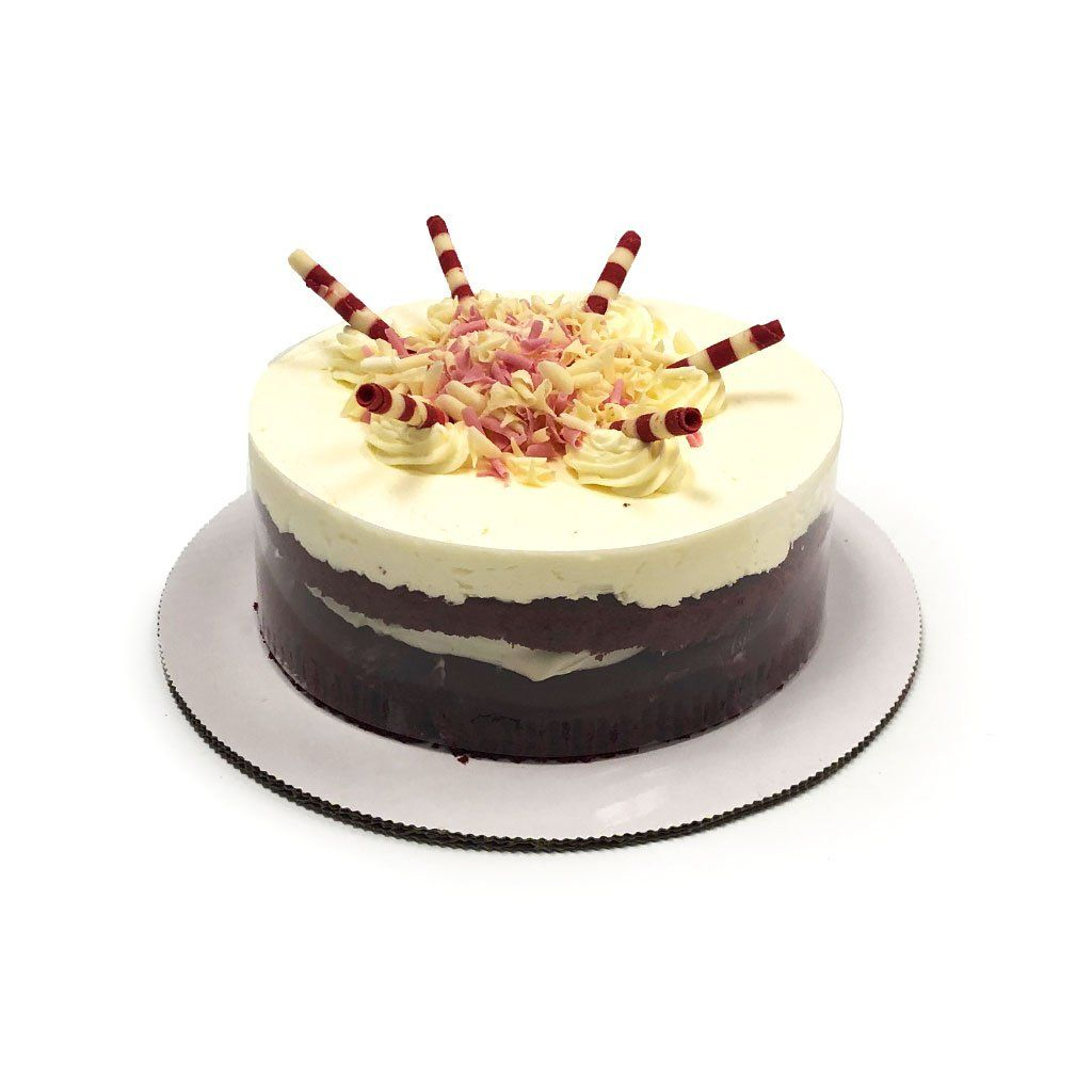 "Cozy-Sized Red Velvet Vegas Dessert Cake Dessert Cake Freed's Bakery Two-Layer 7"" Round (Serves 4-8 Guests)"
