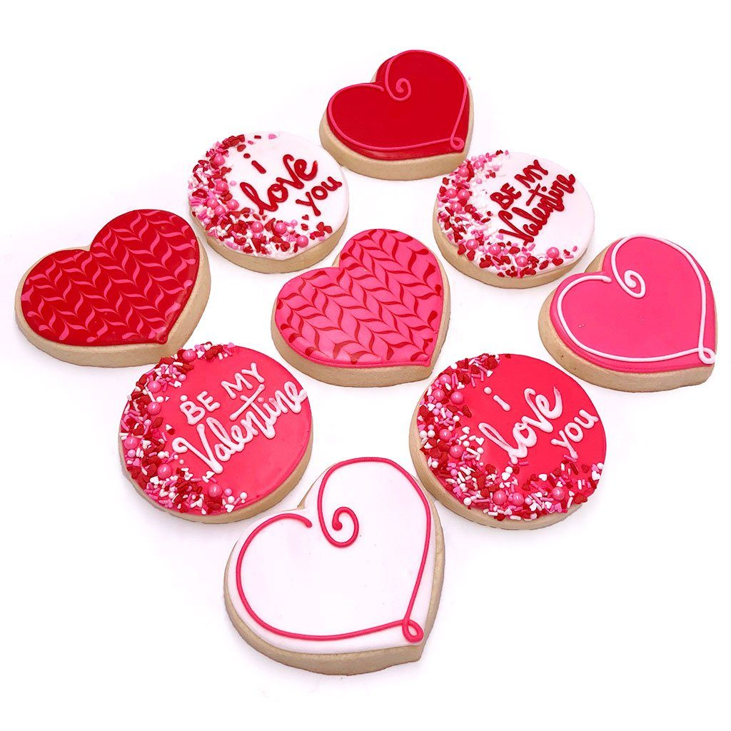 Valentine Cookies & Cocktails Class at Khoury's Event Freed's Bakery