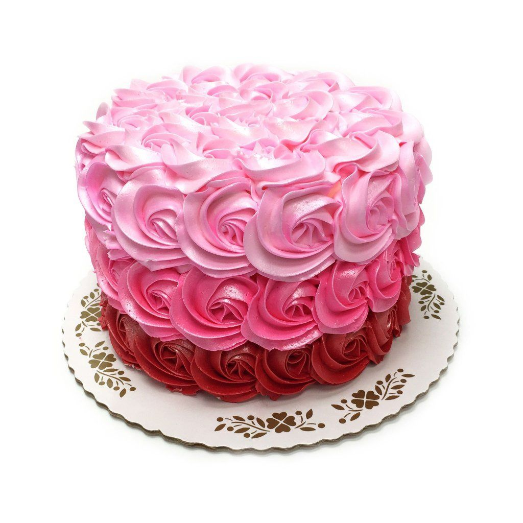 Pink Swirls Theme Cake Freed's Bakery