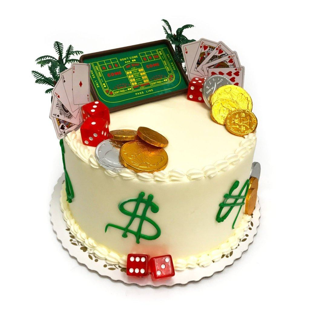 Cards Dice Theme Cake Freeds Bakery
