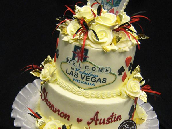 Vegas In Style Wedding Cake Freed's Bakery
