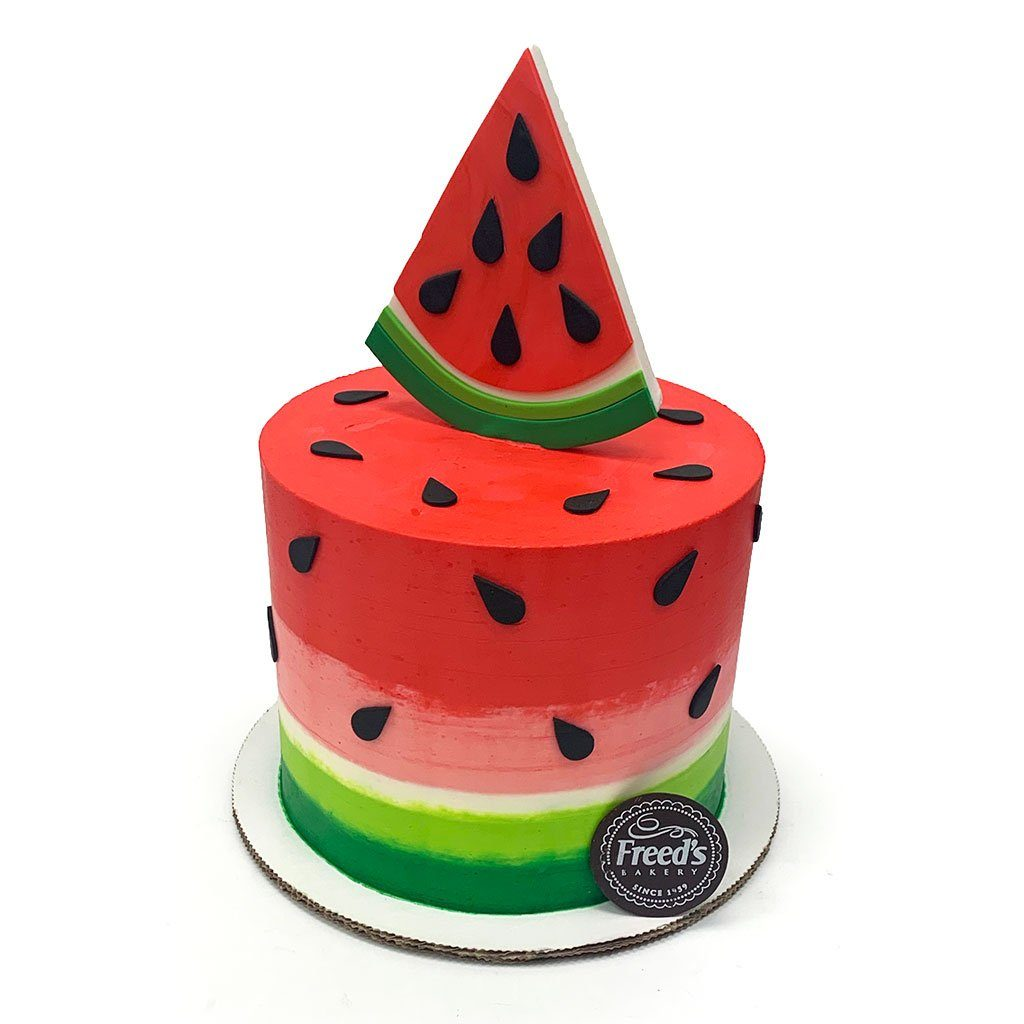Watermelon Cake Decorating Class Event Freed's Bakery