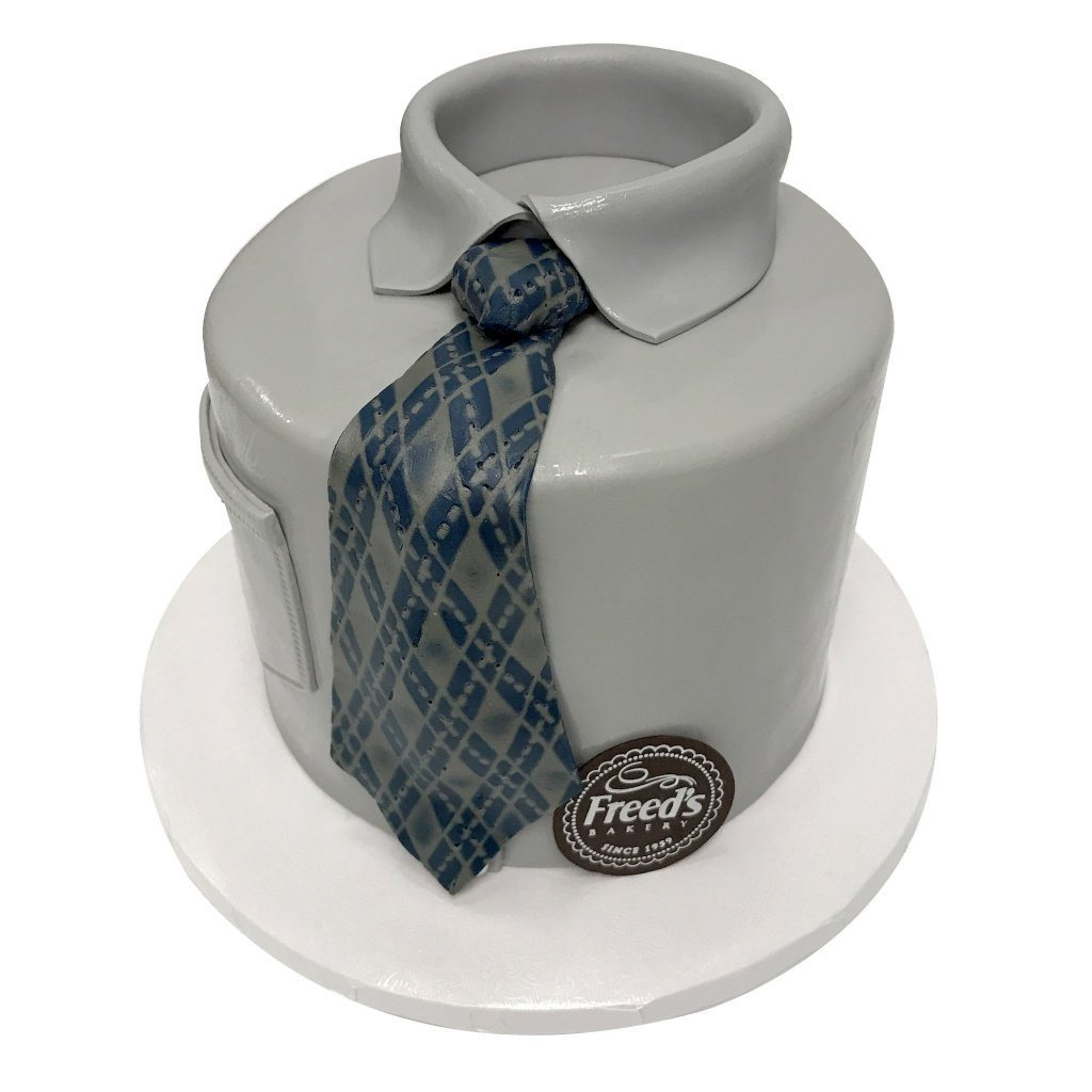 Business Tie Cake Freed's Bakery