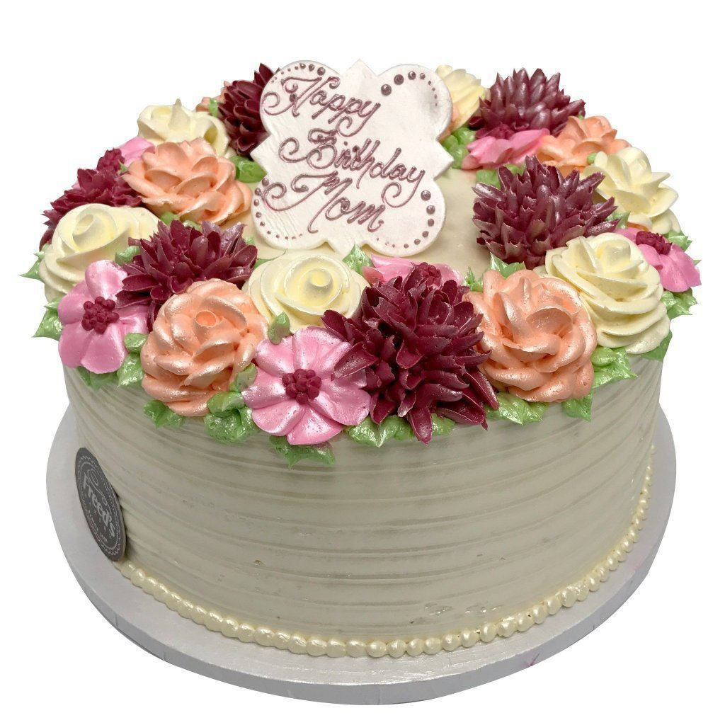 Flowers Delight Cake Freed's Bakery