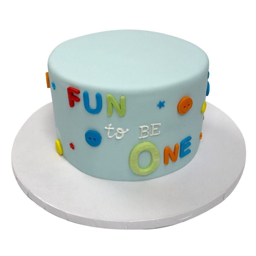 Fun To Be One Theme Cake Freed's Bakery