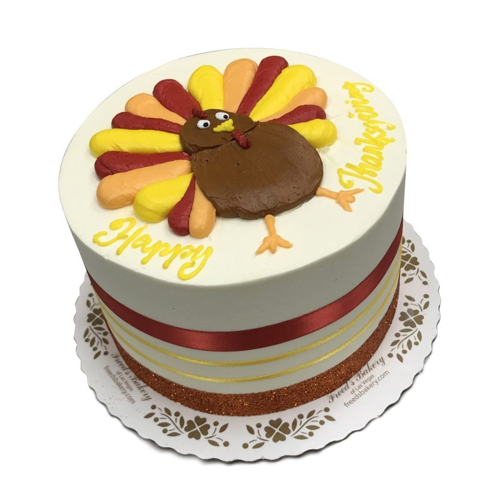 Gobble Gobble Theme Cake Freed's Bakery