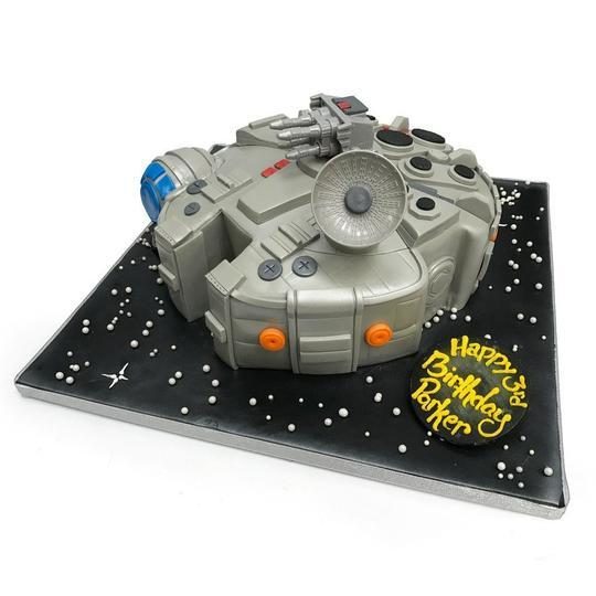 Hunk of Junk Theme Cake Freed's Bakery